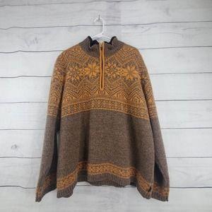 Vintage Obermeyer Wool Pullover Sweater